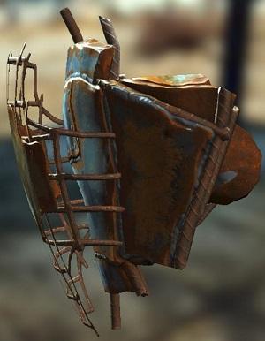 raider power left arm fallout 4 wiki