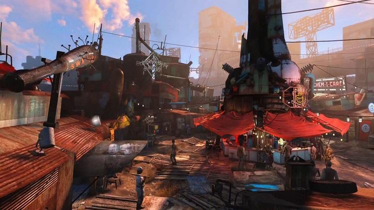 Clear Choice Locations >> Diamond City Market   Fallout 4 Wiki