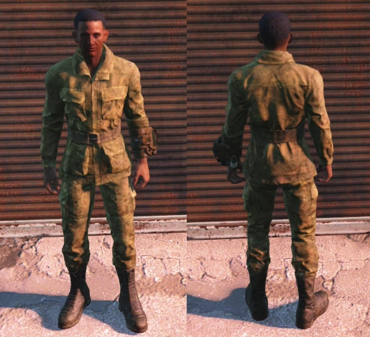 military fatigues fallout 4 wiki
