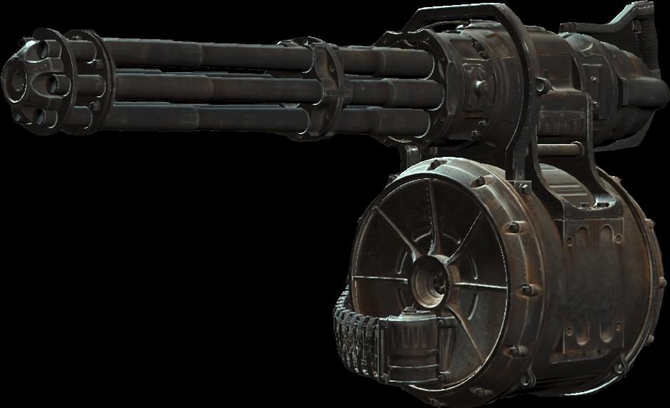 Minigun Fallout 4 Wiki
